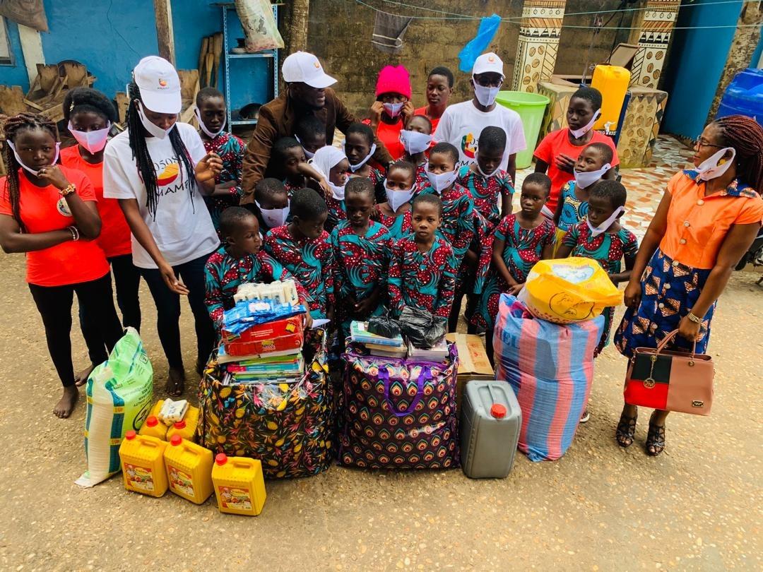 Visita della ONG MAMP alla Maison
