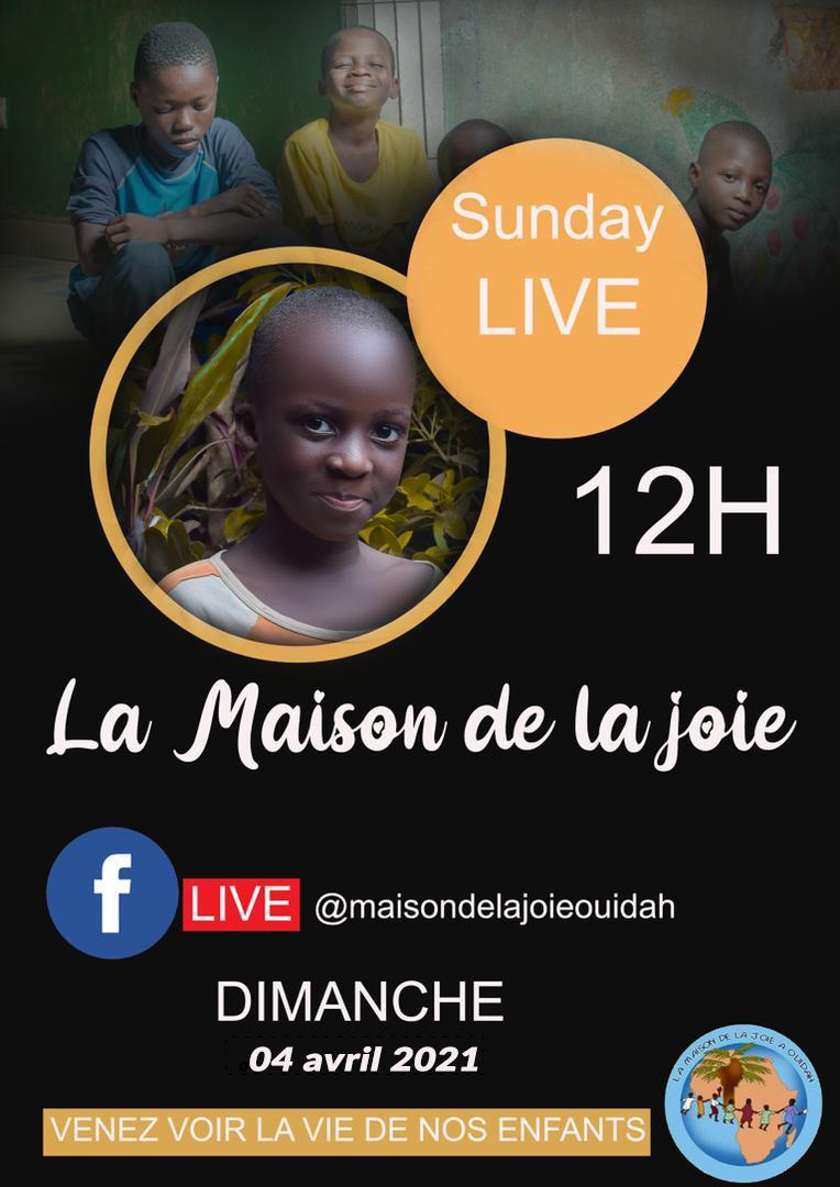 La Maison de la Joie in diretta Facebook